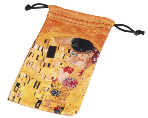 "art bag, ""Klimt - Der Kuss"""