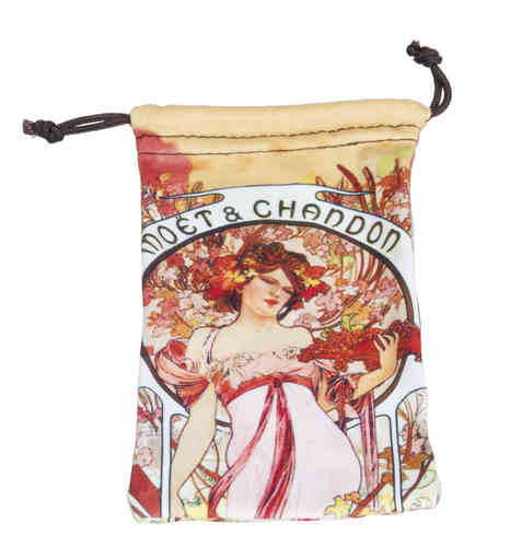 "art bag, ""Art Nouveau - Moet & Chandon"""