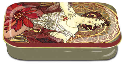 "Art box aus Metall ""Art Nouveau - Jacqueline"""