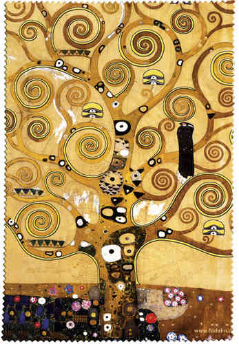 "Eyeglass cleaning cloth ""Klimt - Tree of life"""