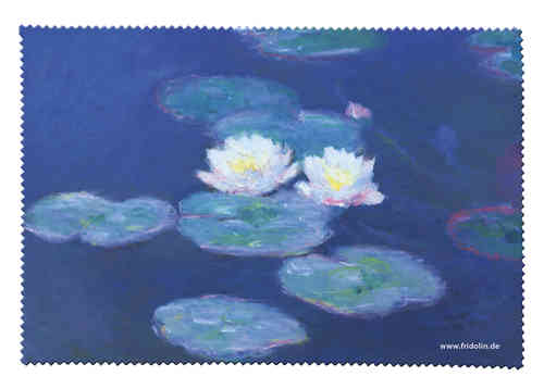 "eyeglass cleaning cloth ""Monet - Water lillies"""