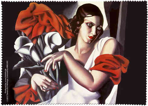 "Eyeglass cleaning cloth ""Lempicka - Portrait of Ira P."""