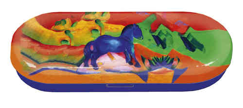 "Spectacle case ""Franz Marc - Blue Horse"""