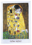 "Tea towel ""Gustav Klimt - The kiss"", made of cotton"