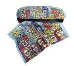 "Spectacle case set ""James Rizzi"", hardcase/cleaning cloth"