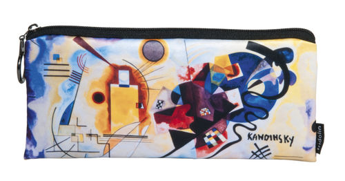 "Pencil bag ""Kandinsky - Yellow-Red-Blue"""