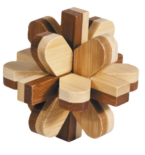 """IQ-Test"" bamboo puzzle ""Snowball"""