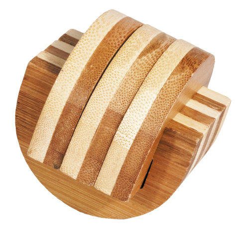 """IQ-Test"" bamboo puzzle ""Clamps"""
