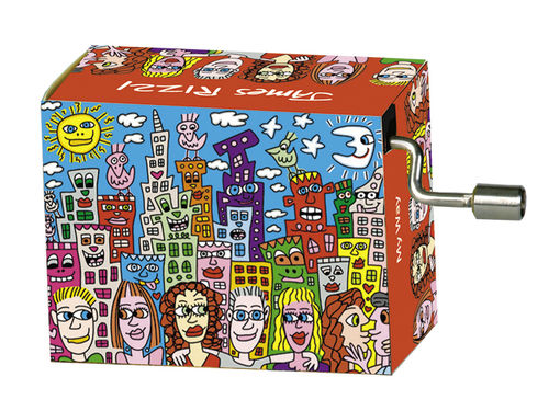 "Spieluhr ""My Way"" in Box ""James Rizzi, Summer in the city"""