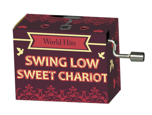 "Spieluhr ""Swing Low Sweet Chariot"" in Box ""World Hits 1"""