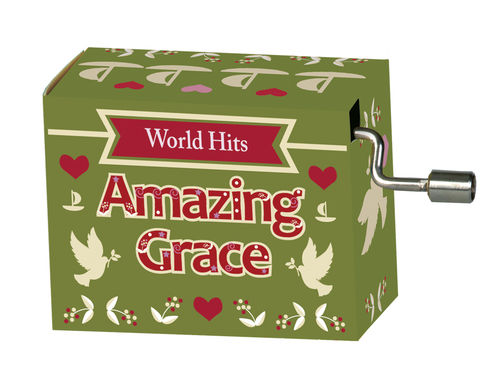 "Spieluhr ""Amazing Grace"" in Box ""World Hits 1"""