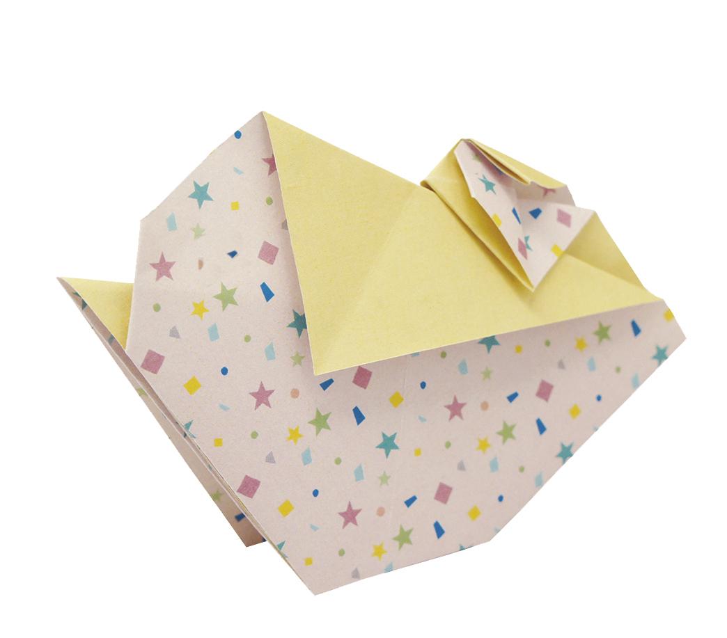 Small Pill Box Origami Polygon Rhino Pine Pattern Cute Pill Case ... | 917x1044