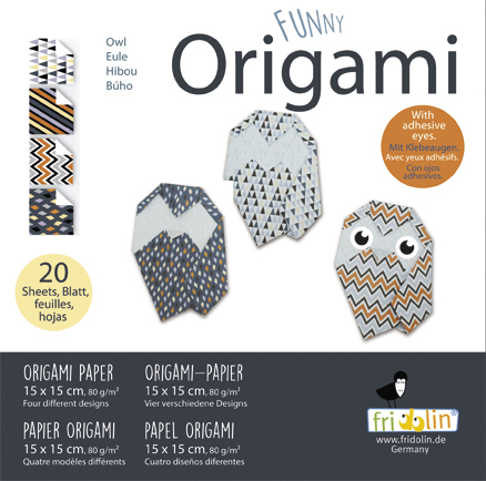 Funny Origami - Owls