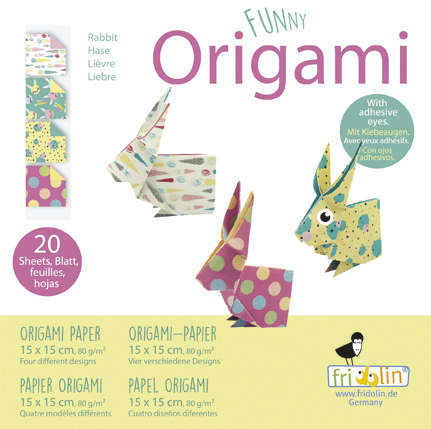 Funny Origami - Hares