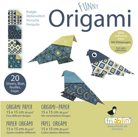 Funny Origami - Wellensittiche