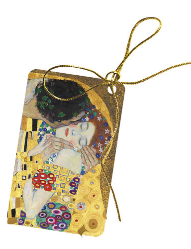 "Gift tags ""Gustav Klimt -The Kiss"""