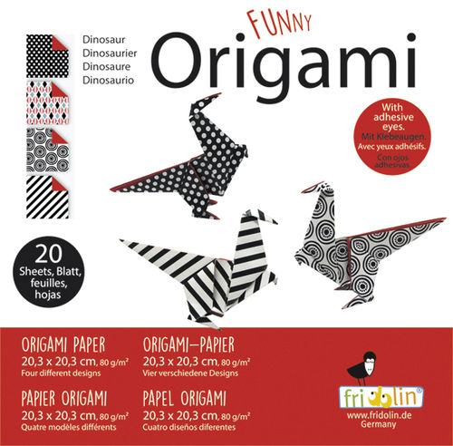 Funny Origami - Saurier, groß