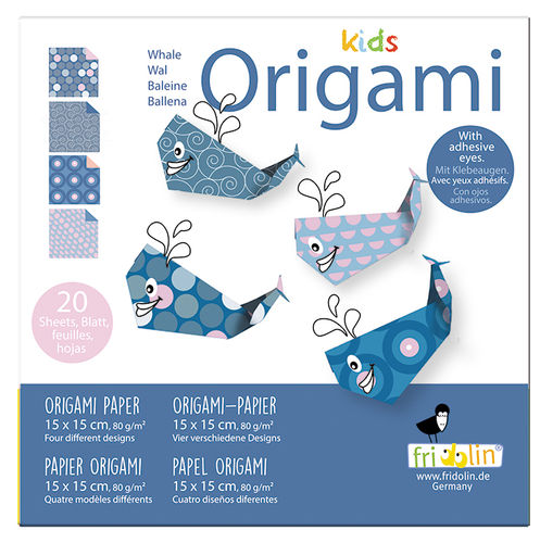 Kids Origami - Whale