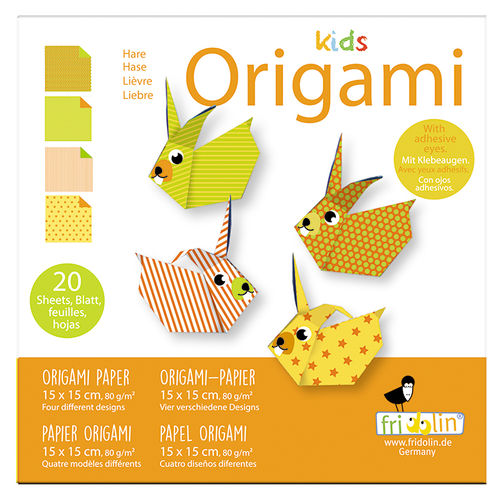 Kids Origami - Hase