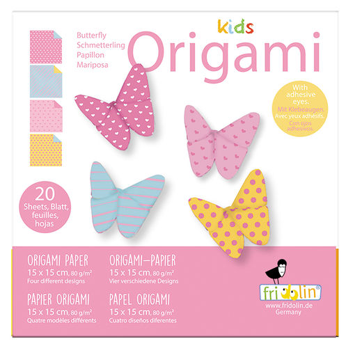 Kids Origami - Schmetterling